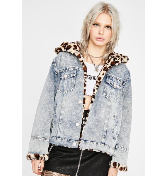 Miss Fierce Denim Jacket