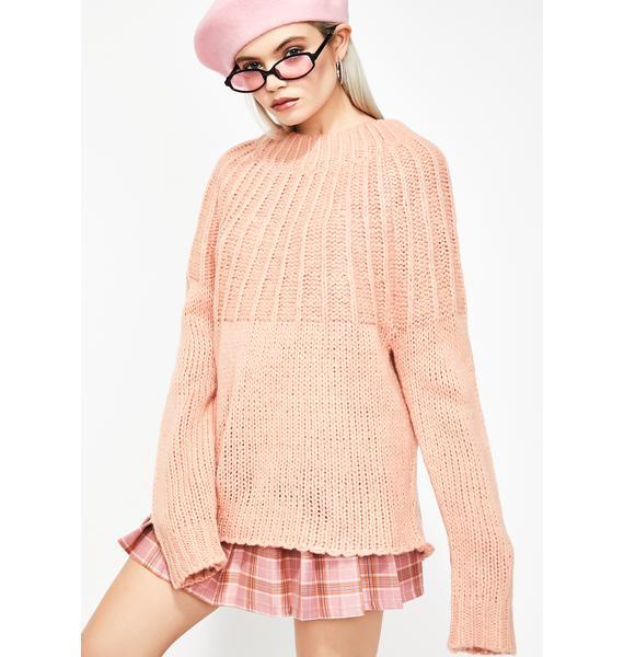Dream Desire Tie Back Sweater