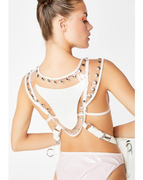 Futuristic Mystic Hologram Holster Vest