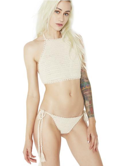 Hidden Cove Crochet Bikini Set