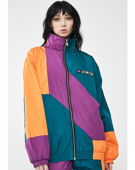 Acknowledge Color Block Track Jacket