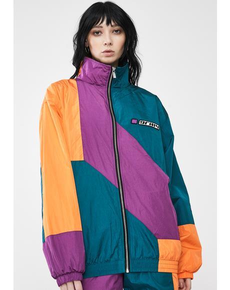 Acknowledge Color Block Track Jacket