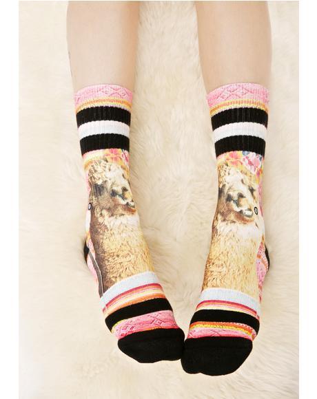 Tina Classic Crew Socks