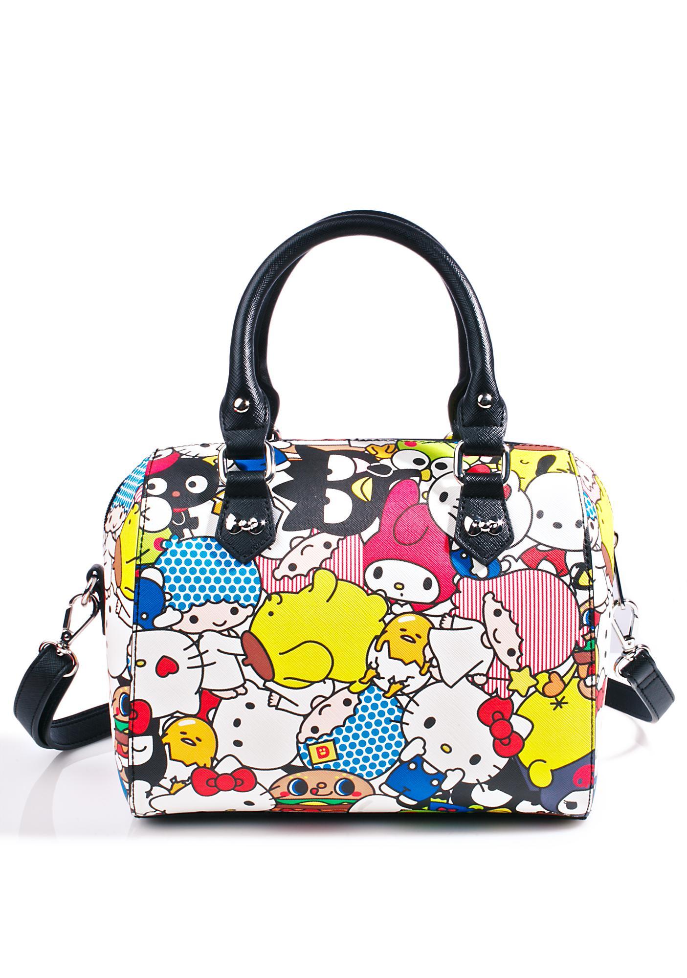 Loungefly Hello Sanrio Duffle Bag