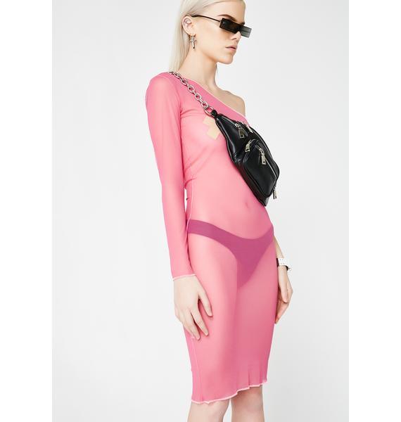 Plugged NYC One Shoulder Dress