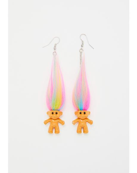Troll Earrings