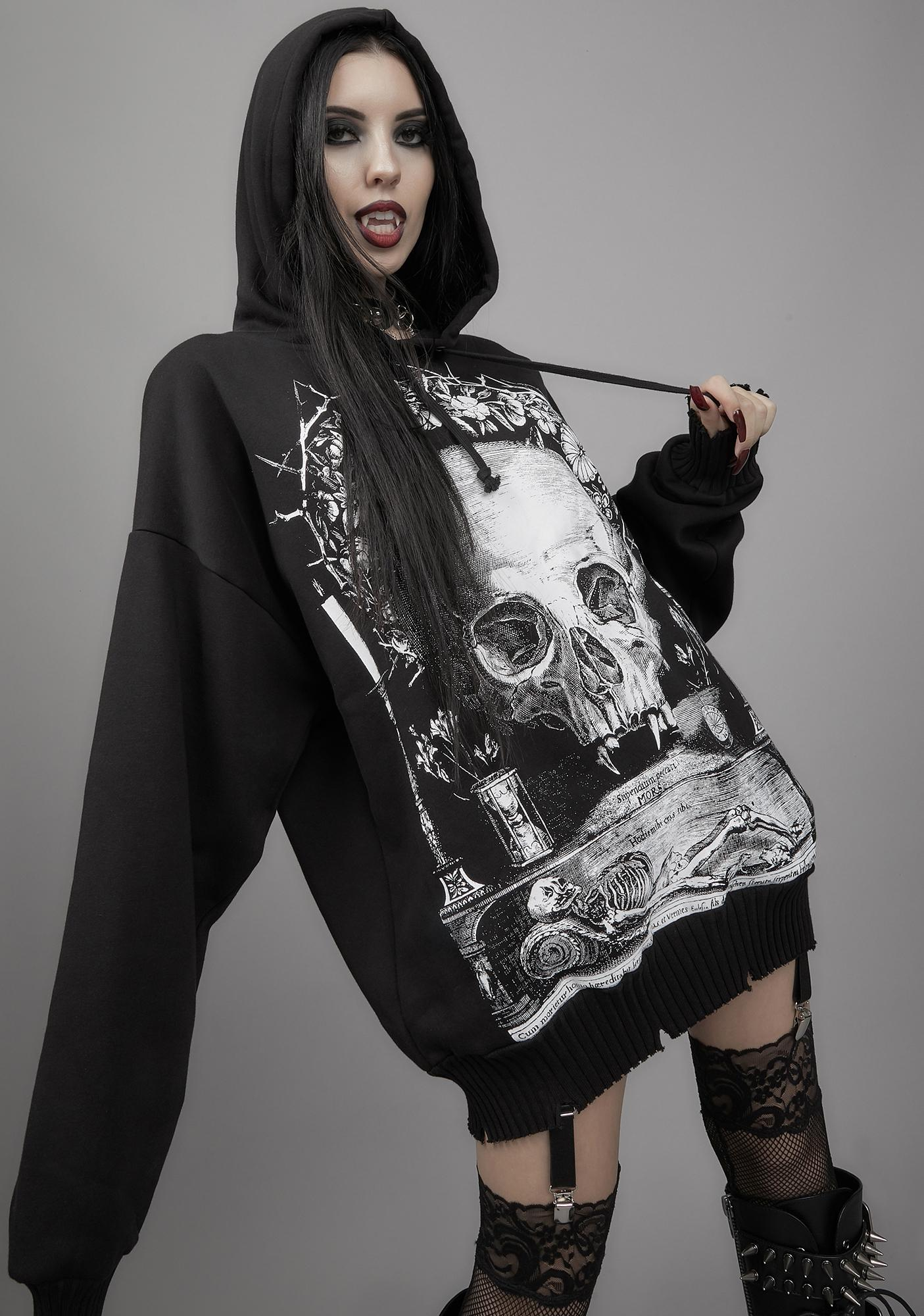Widow Ashes To Ashes Graphic Hoodie