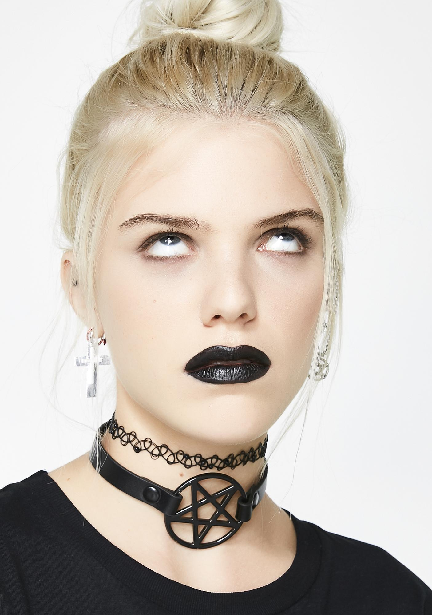 Mystic Truth Pentagram Choker