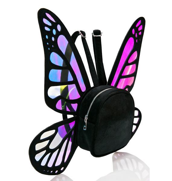 Current Mood Mystical Monarch Mini Backpack