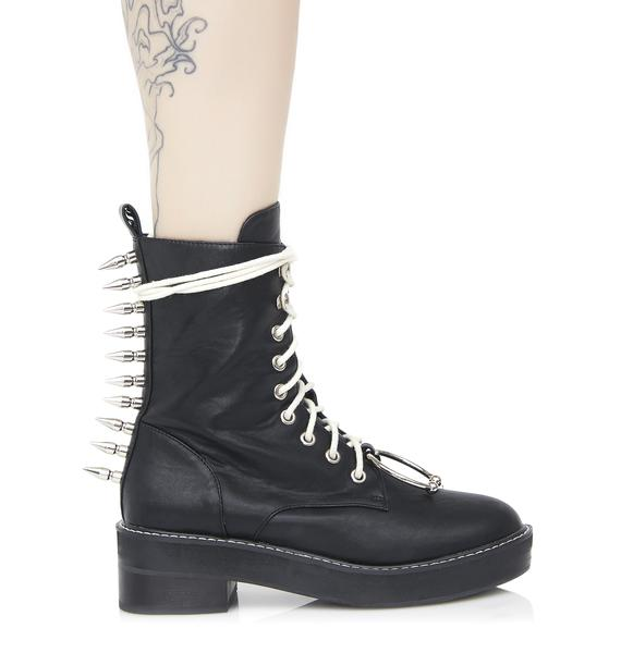 Current Mood Spikestrip Combat Boots