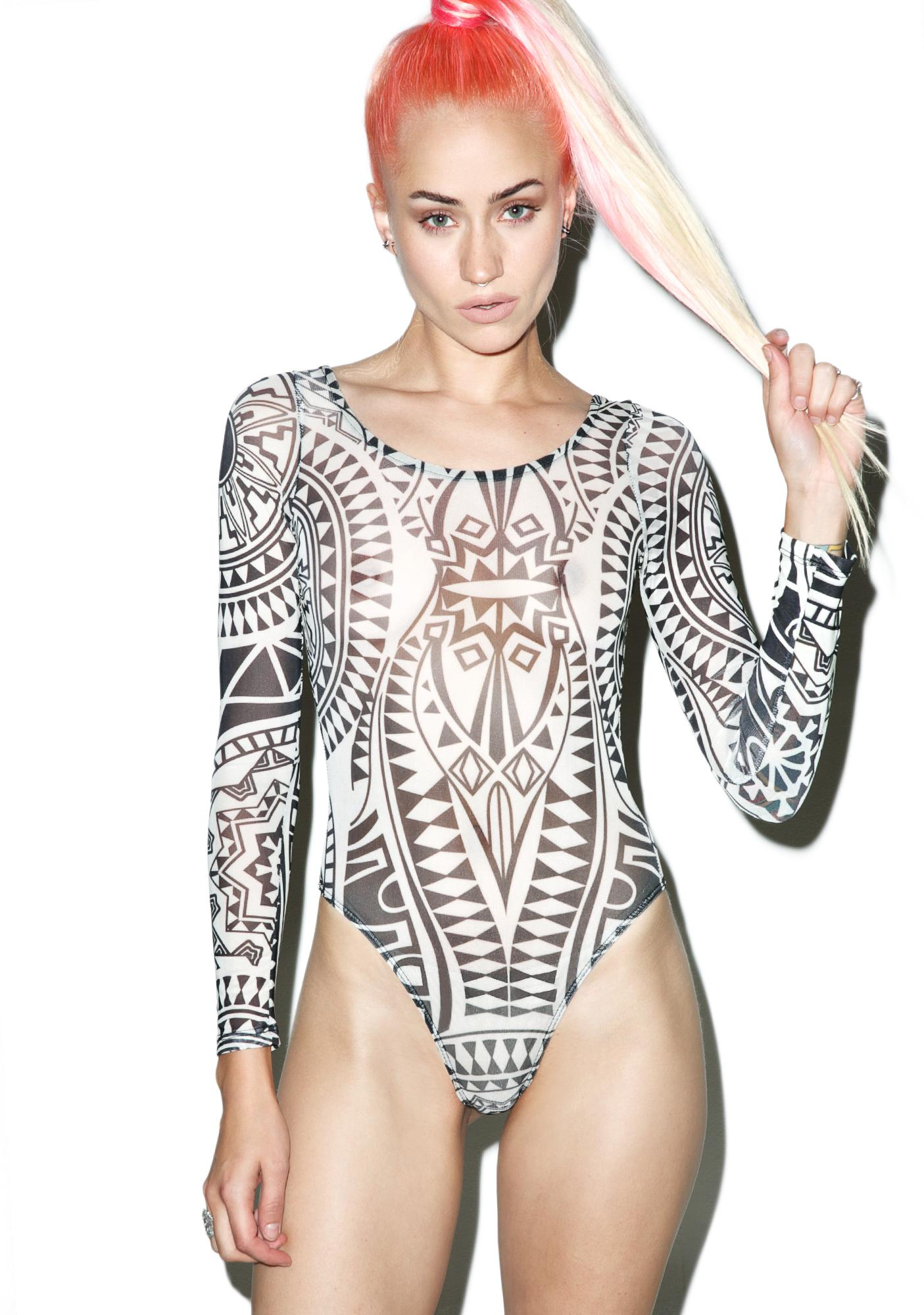 Atomic Spirit Tattoo Bodysuit