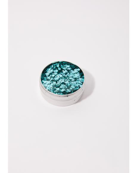 Cosmic Siren Aqua Eco Glitter