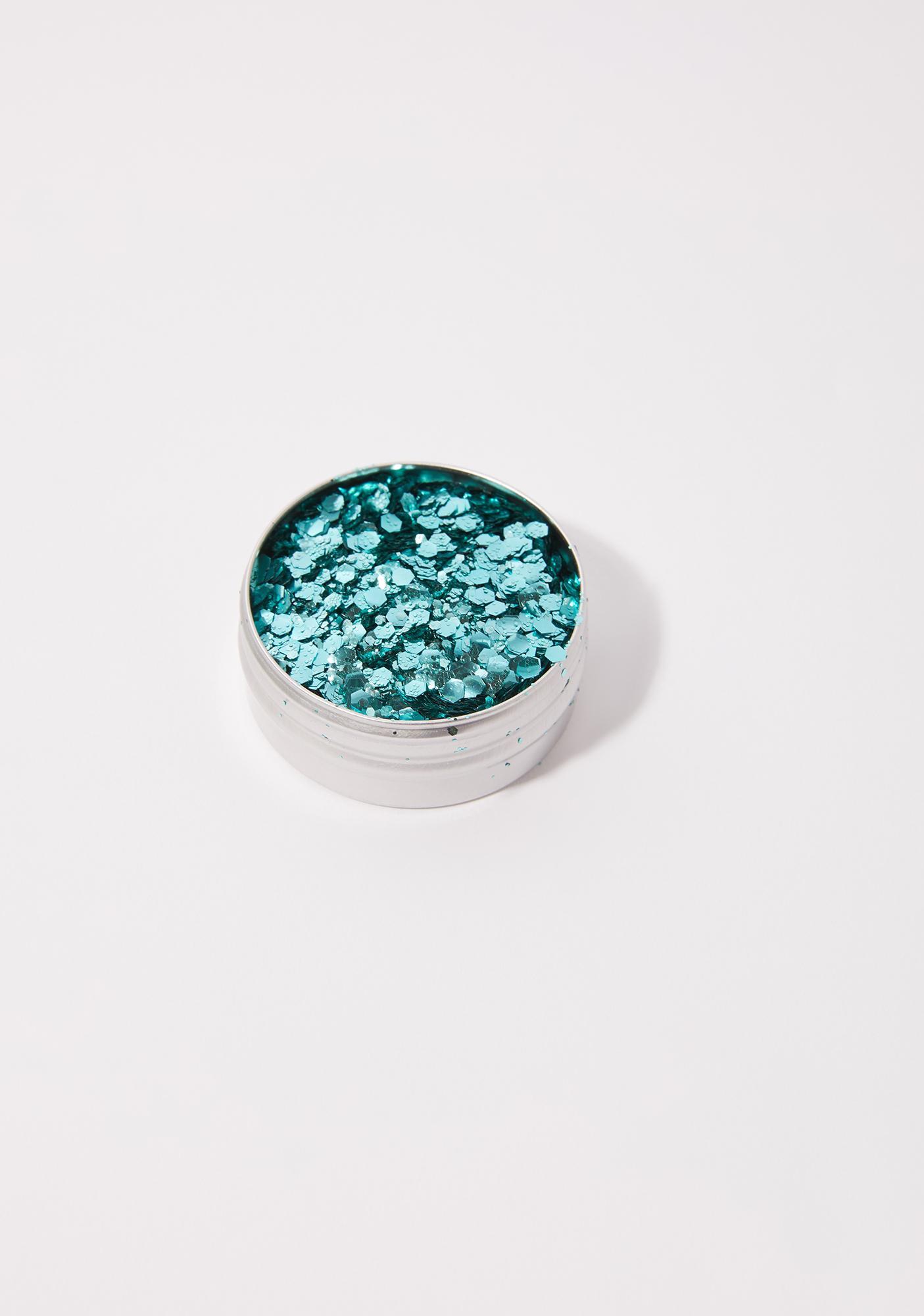 A Beautiful Weirdo Cosmic Siren Aqua Eco Glitter