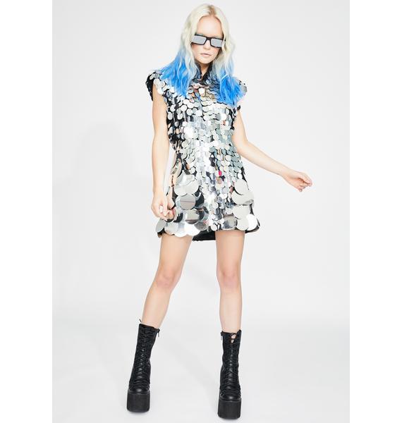HEYAMI Disco Disuko Sequin Dress