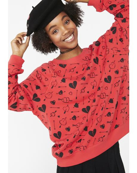 Cupid Strikes Sommer Sweater