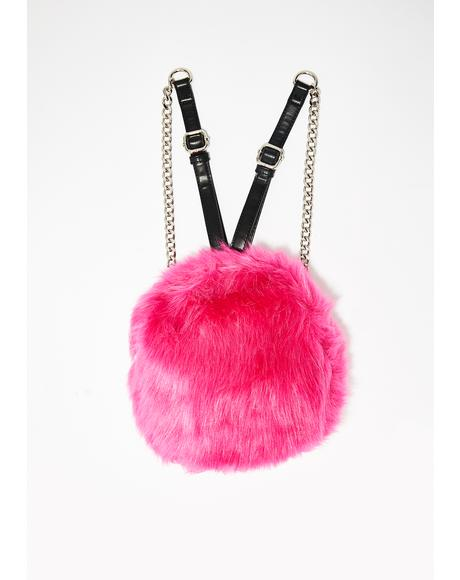 Sweeter Than Ever Furry Backpack