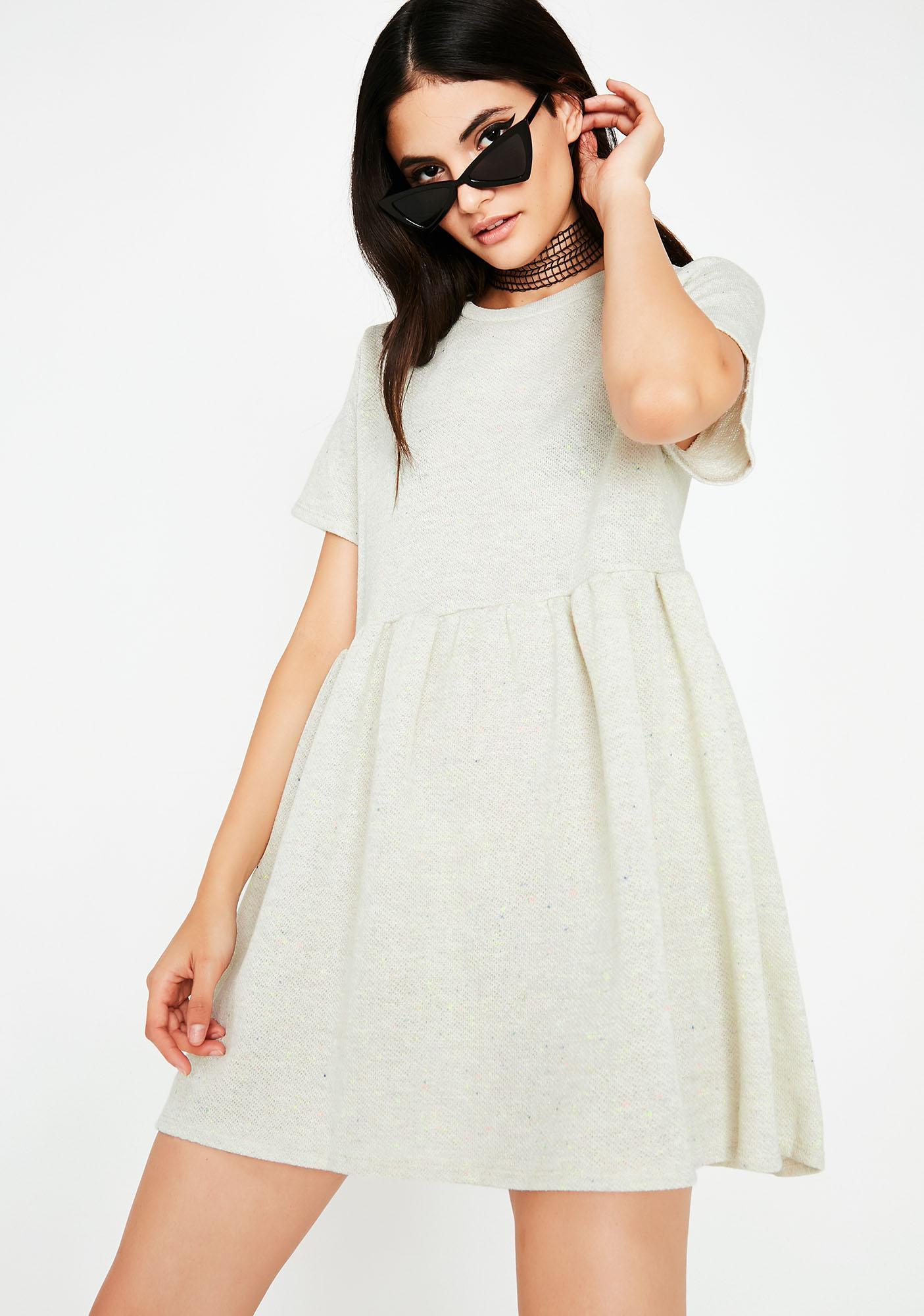 Pass The Tea Babydoll Dress
