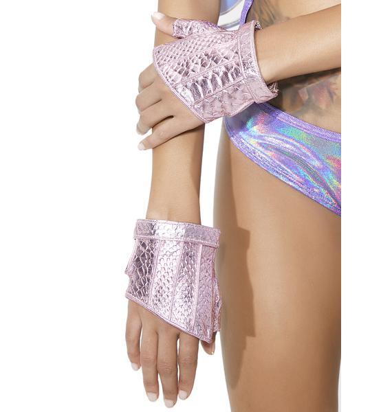 Five and Diamond Steam Trunk Crop Gloves