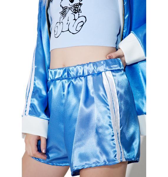 O Mighty Silk Kitten Shorts