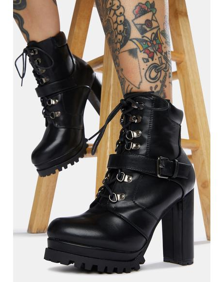 Where Is My Mind Ankle Boots