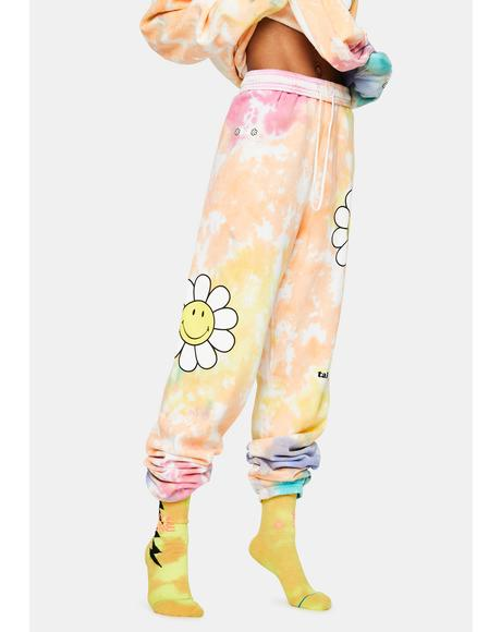 Take It Easy Tie Dye Sweatpants