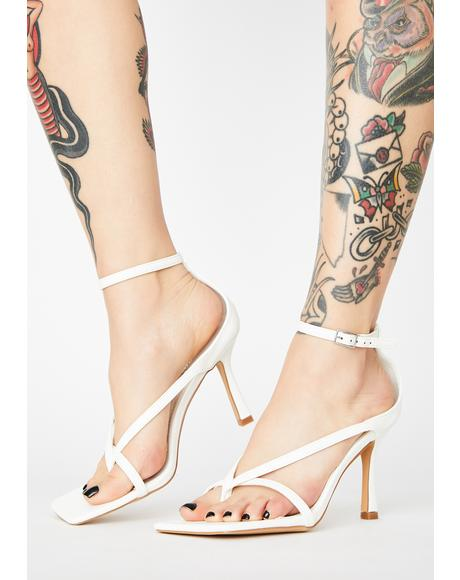 Purely High Maintenance Grl Strappy Heels