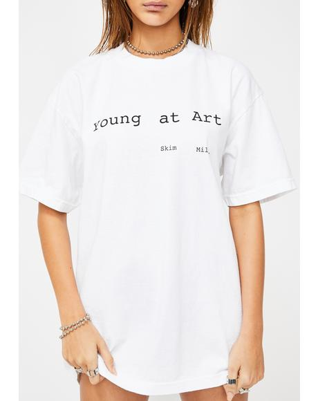 Young At Art Graphic Tee