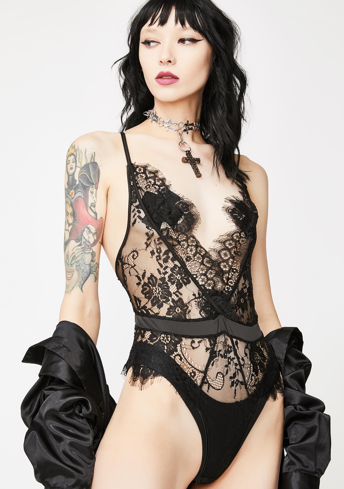 Scarlett Harlot Lace Bodysuit