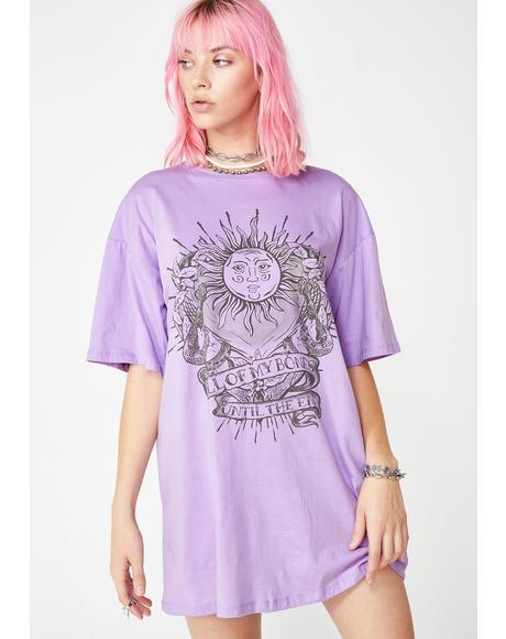 Lilac Sunny Kiss Dress
