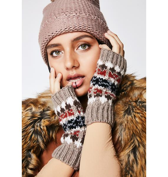 Warmin' Up Fingerless Gloves