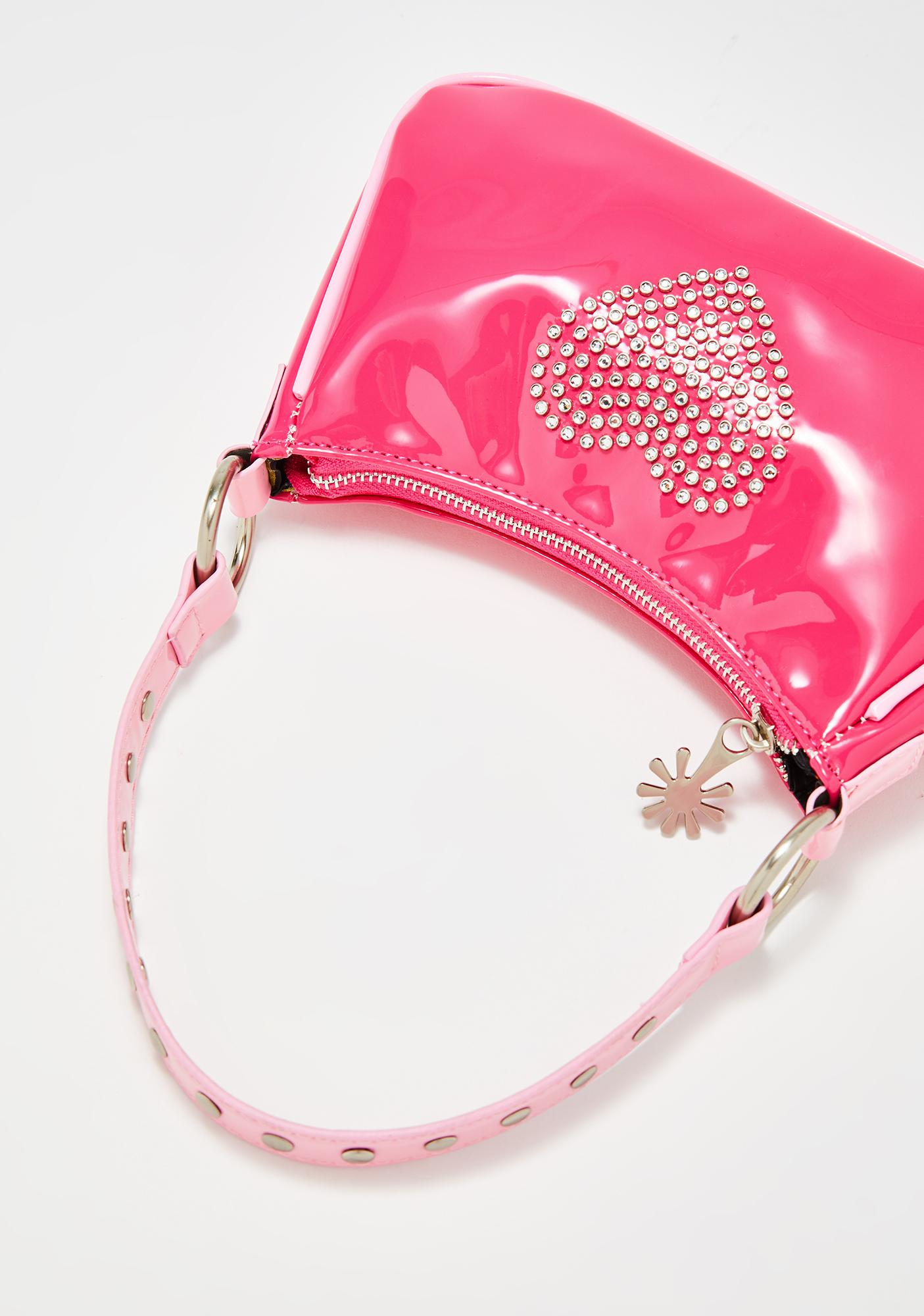 dELiA*s by Dolls Kill Bling Breakup Rhinestone Purse