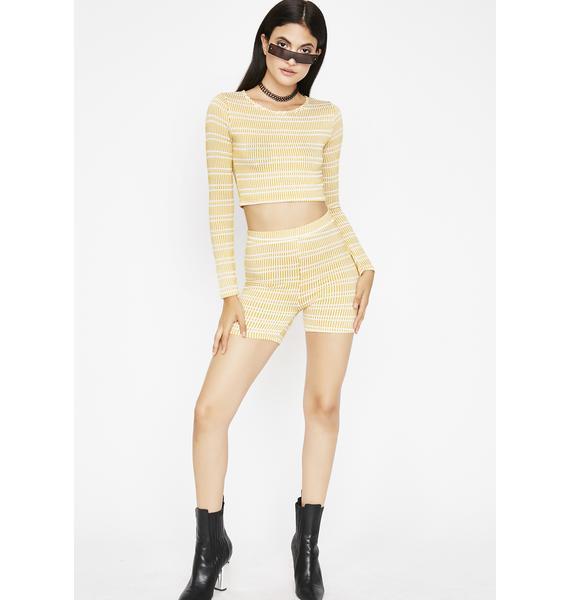 Sunny Deserve Better Stripe Set