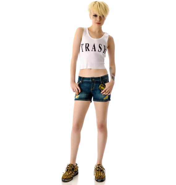 Kill City Road Hard Junkie Denim Shorts