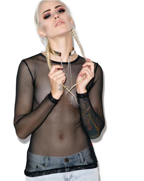 Fishnet Long Sleeve