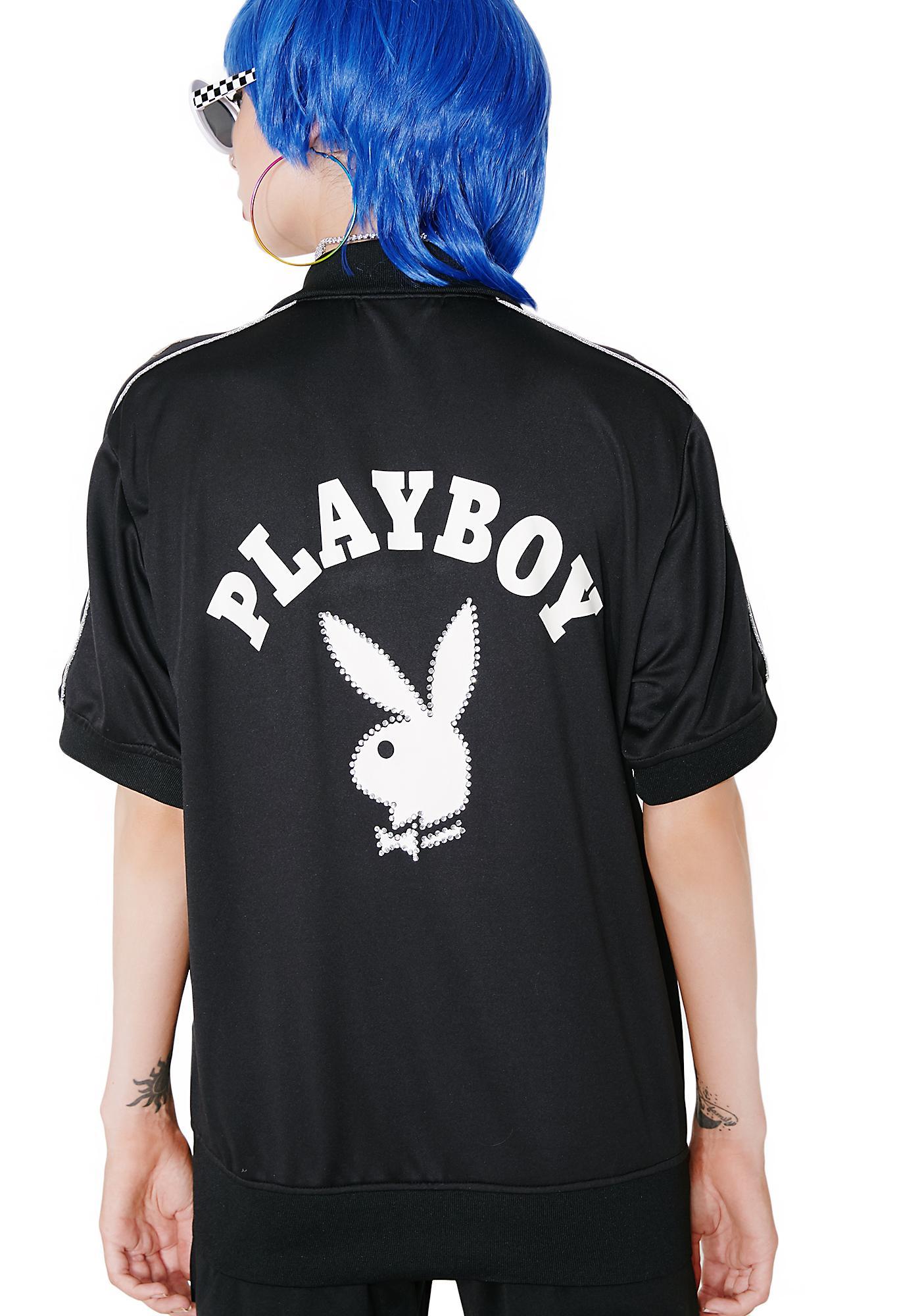 Vintage Playboy Track Jacket