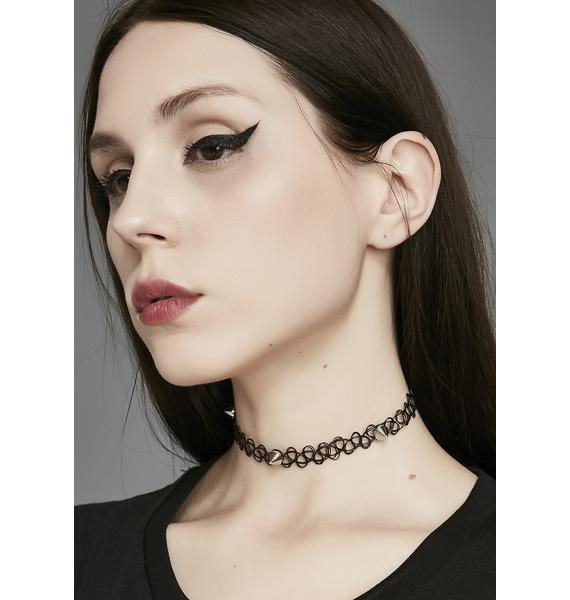 Protect Me Tattoo Choker