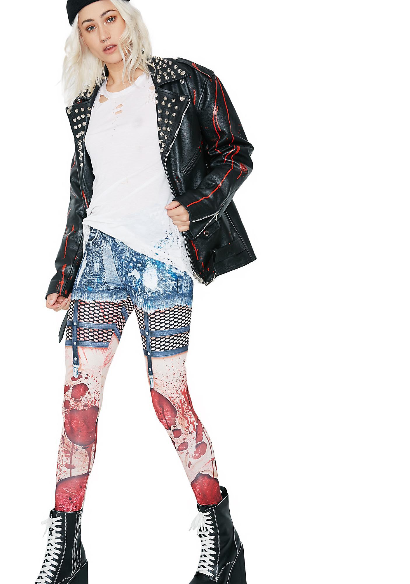 Zombie Printed Leggings