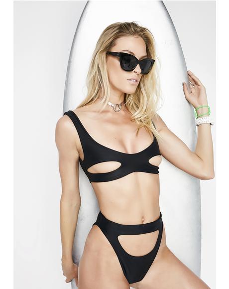 Midnight Offshore Bikini Bottoms