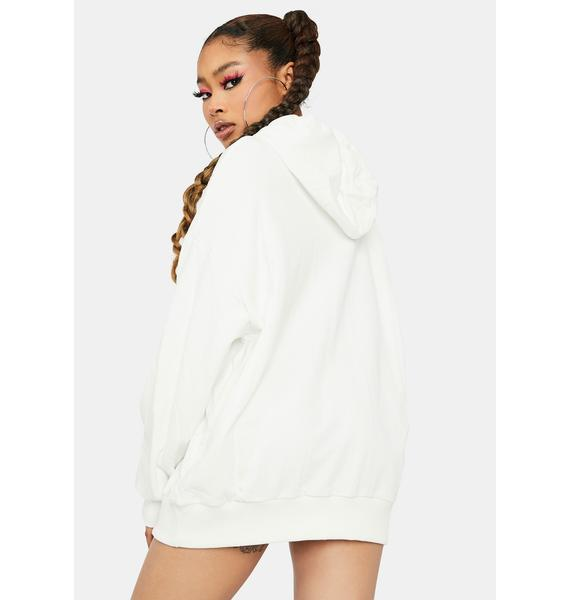 Pure Luck Be A Lady Cold Shoulder Hoodie