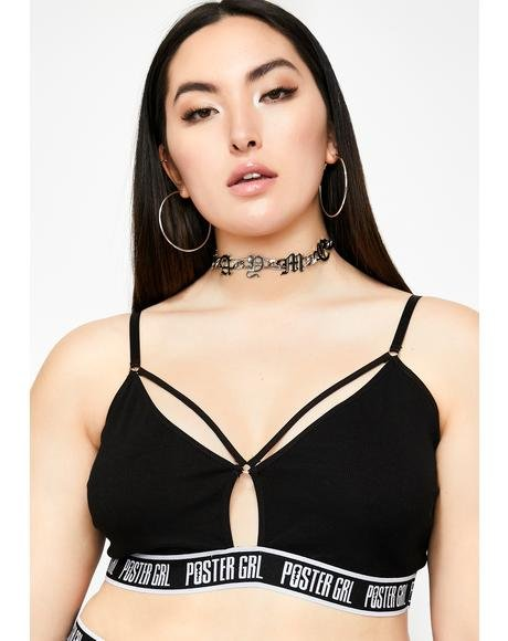 Night Go Boss Mode Strappy Bra