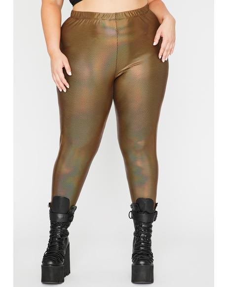 Lux Shining Mystic Holographic Leggings