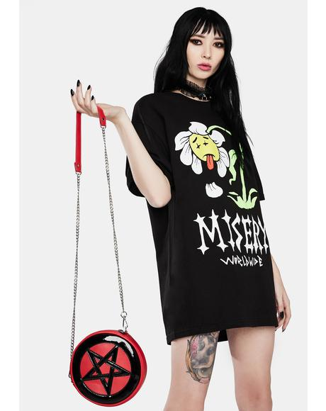 Dead Flower Graphic Tee
