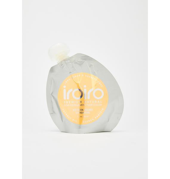 Iroiro UV Reactive 320 Neon Orange Hair Dye