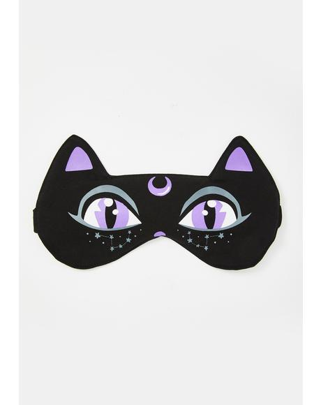 Cat Nap Sleep Mask