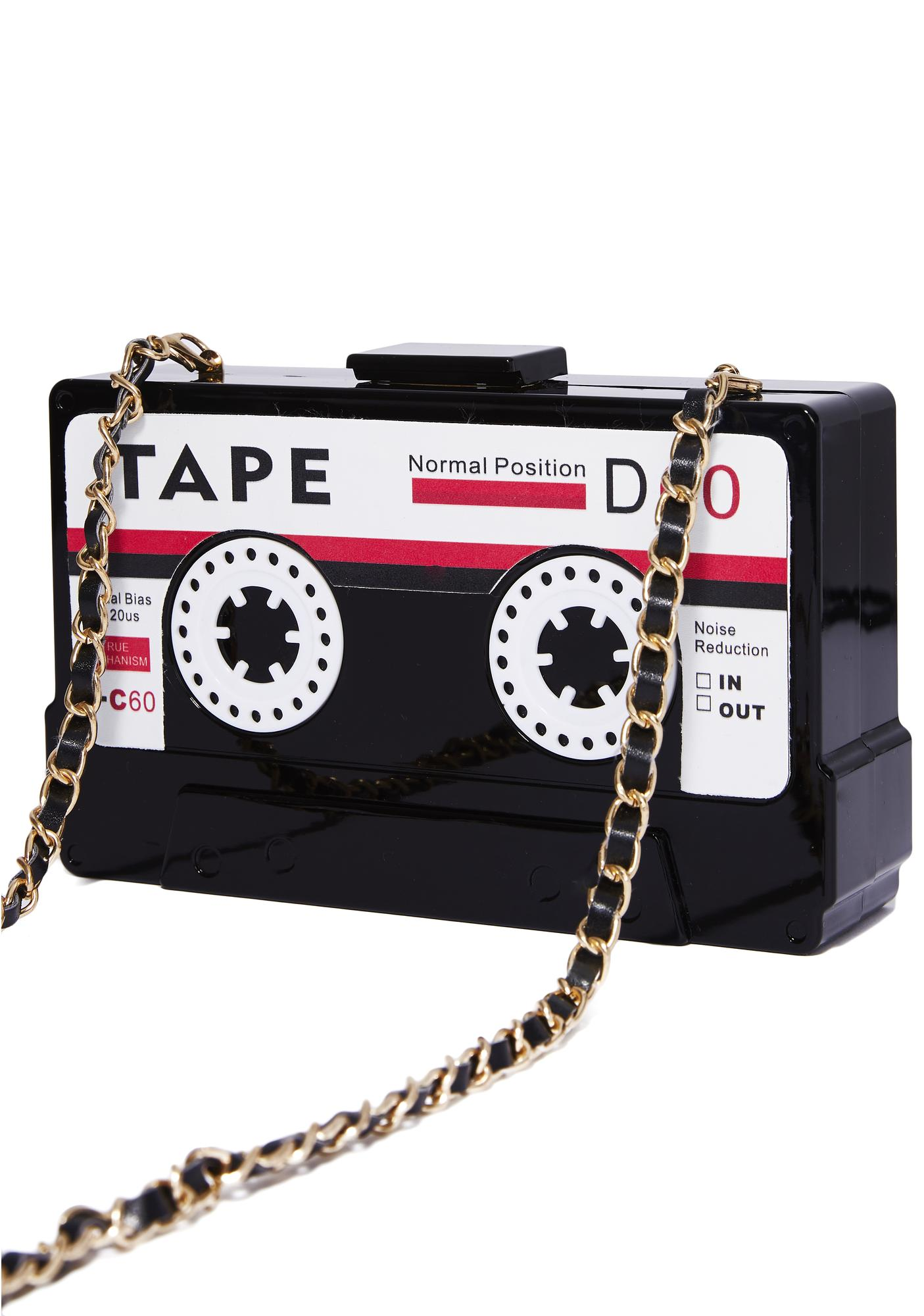 Play That Music Cassette Tape Bag