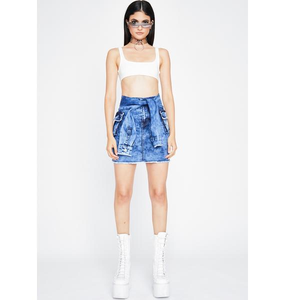 Keep It Kool Mini Skirt
