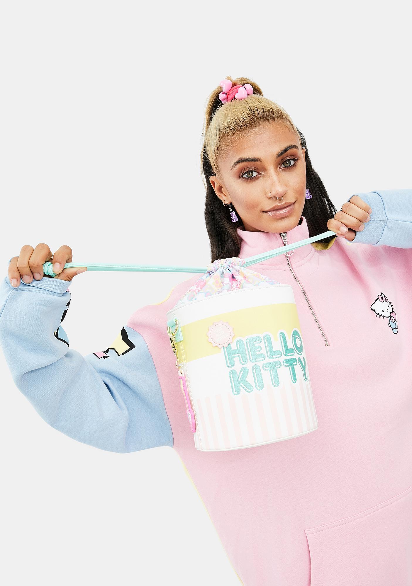 Loungefly Hello Kitty Cup O' Kitty Crossbody Bucket Bag