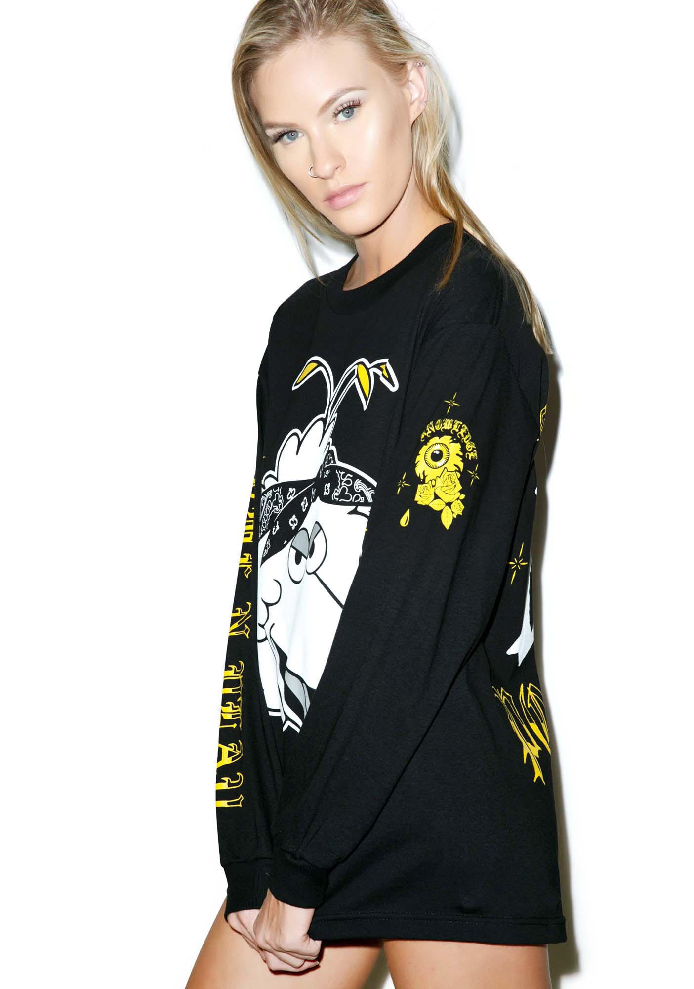 Mishka Big Bird Long Sleeve Tee