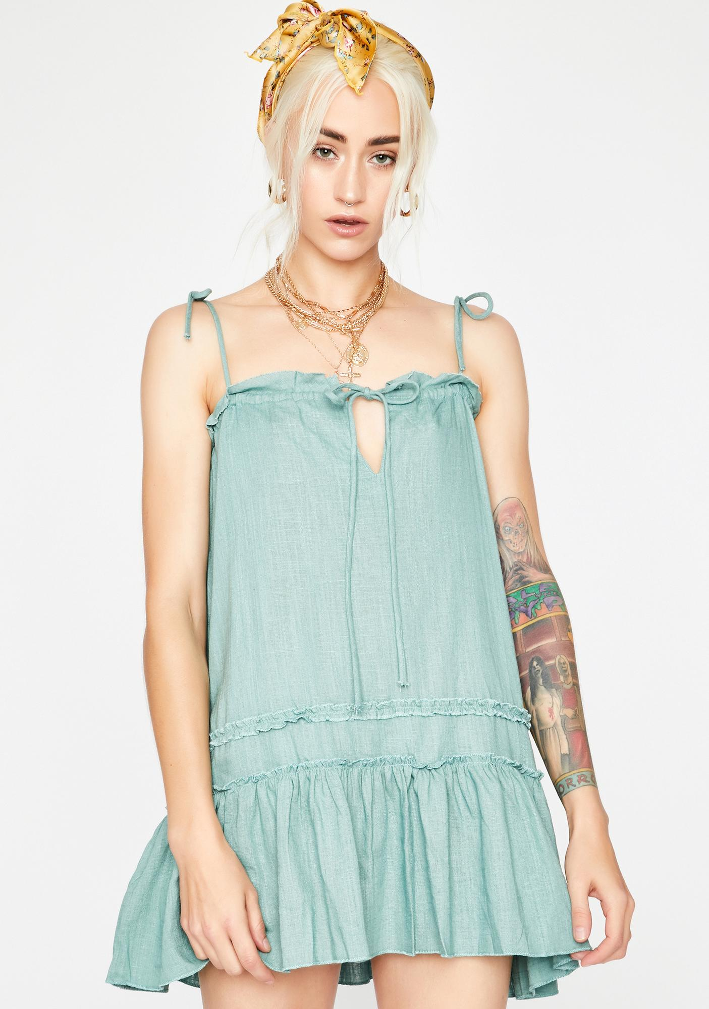 Kush Summertime Gladness Ruffled Dress
