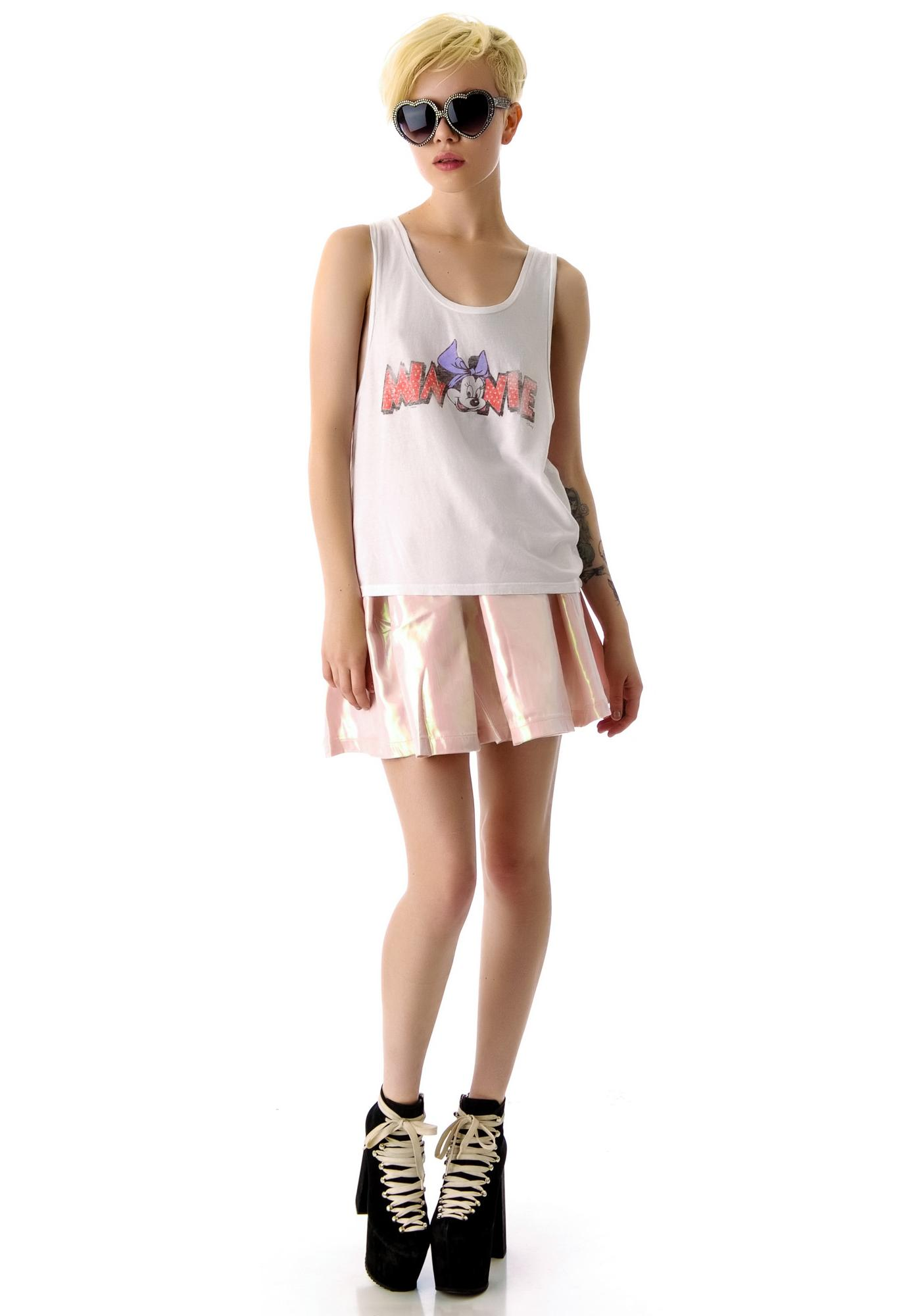 Junk Food Clothing Minnie Easy Rider Tank